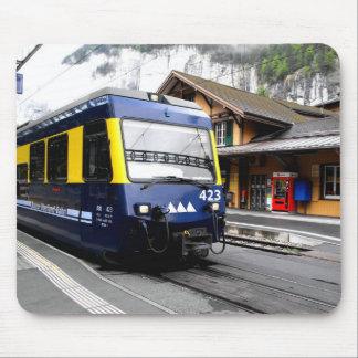 Tapis De Souris Train de bahn de Berner Oberland en Suisse
