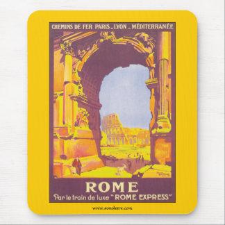 Tapis De Souris Train du pair le de Rome de luxe