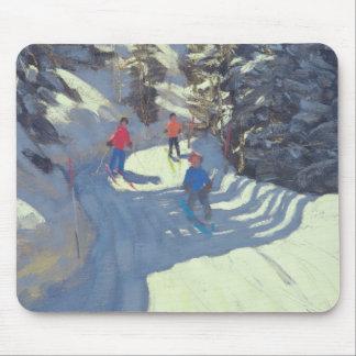 Tapis De Souris Traînée Lofer 2004 de ski