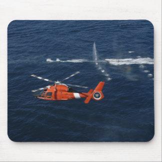 Tapis De Souris Trains d'un équipage d'hélicoptère