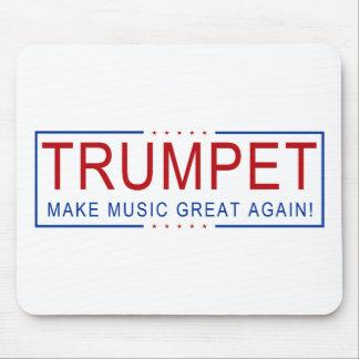Tapis De Souris TROMPETTE - rendez la musique grande encore !