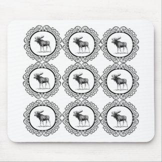 Tapis De Souris troupeau d'anneau d'orignaux