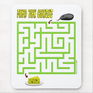 Tapis De Souris Trouvez le labyrinthe de souris de fromage