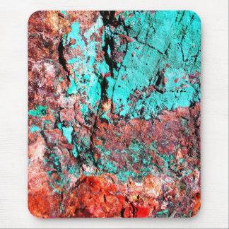 Tapis De Souris Turquoise et cuivre