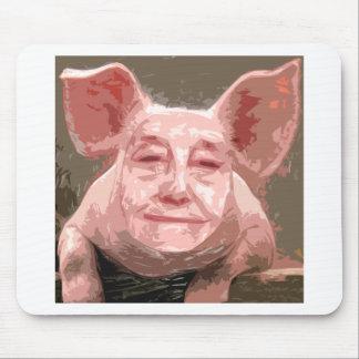 Tapis De Souris Un porc futé