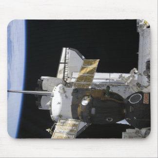 Tapis De Souris Un vaisseau spatial accouplé de Soyuz