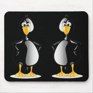 Tapis De Souris Une belle paire de pingouins