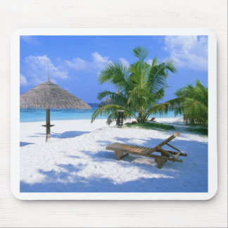 Tapis De Souris Vacances de paradis de plage