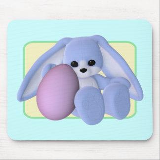 Tapis De Souris Vacances Mousepad de lapin et d'oeufs de Pâques