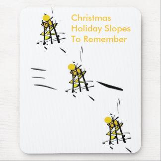 Tapis De Souris Vacances Mousepad de Noël