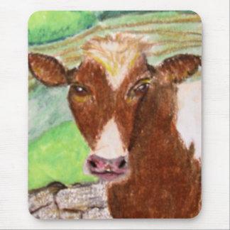 Tapis De Souris Vache américaine à pays