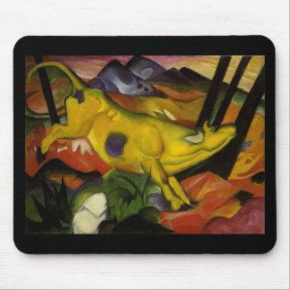 Tapis De Souris vache jaune
