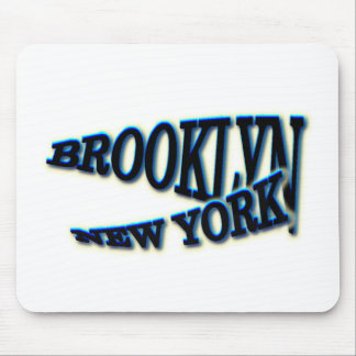 Tapis De Souris Vague bleue de Brooklyn NY