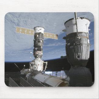 Tapis De Souris Vaisseaux spatiaux de Russe Soyuz et de progrès