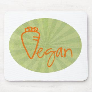 Tapis De Souris Végétalien (avec le graphique de carotte)