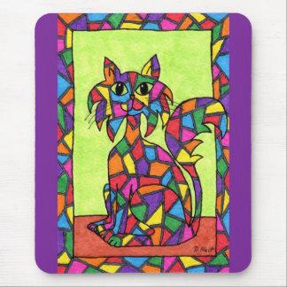Tapis De Souris Verre souillé Kitty
