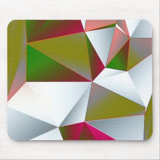 Tapis De Souris Vert 02 géométrique