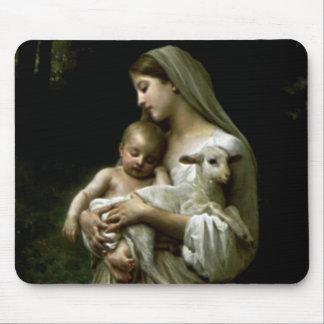 Tapis De Souris Vierge Marie béni - mère de Dieu