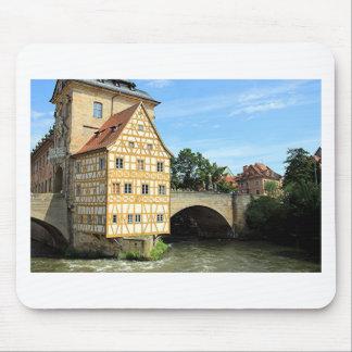 Tapis De Souris Vieux hôtel de ville, Bamberg, Allemagne, l'Europe