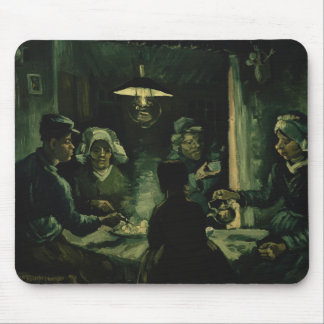 Tapis De Souris Vincent van Gogh - les mangeurs de pomme de terre