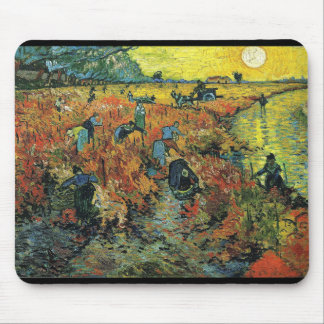 Tapis De Souris Vincent Willem van Gogh, The Red Vineyard