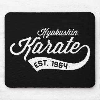 Tapis de souris vintage II de karaté de Kyokushin