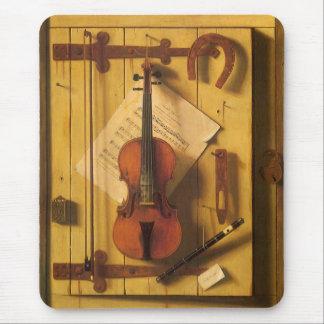 Tapis De Souris Violon et musique toujours de la vie par William