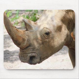 Tapis De Souris Visage triste de rhinocéros