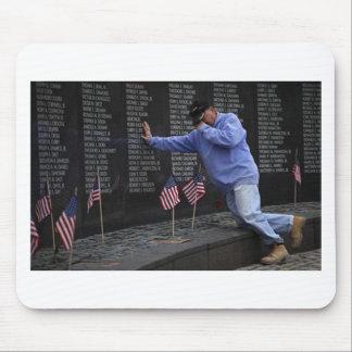 Tapis De Souris Visite du mur commémoratif du Vietnam, DC de