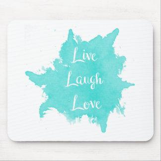Tapis De Souris Vivent l'amour de rire