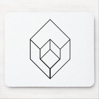 Tapis De Souris Vue architectural-axonométrique d'objet