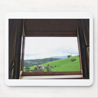Tapis De Souris Vue de la fenêtre