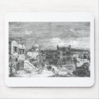 Tapis De Souris Vue imaginaire de Venise par Canaletto