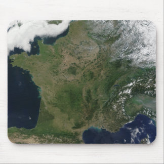Tapis De Souris Vue satellite de la France
