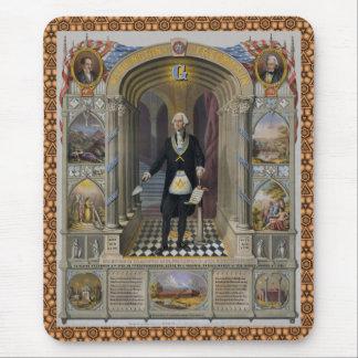 Tapis De Souris Washington le maçon II