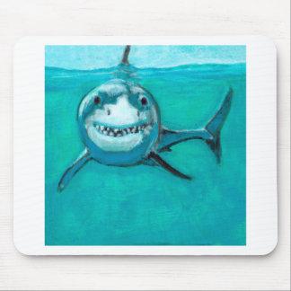"""Tapis De Souris """"Wayne"""" le grand requin blanc"""