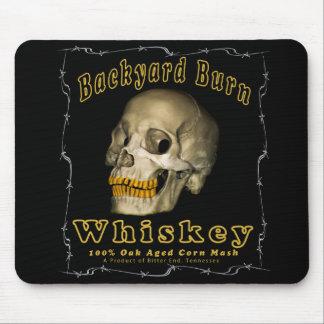 Tapis De Souris Whiskey de brûlure de jardin