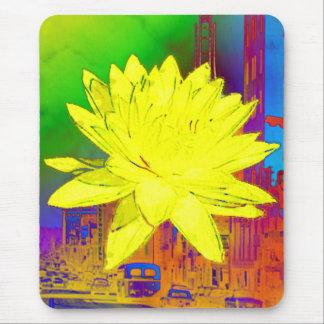 Tapis De Souris Yellowflower par la La riche Bonté