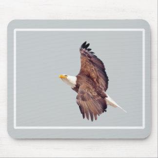 Tapis De Souris Yeux d'Eagle chauve au ciel