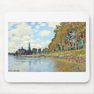 Tapis De Souris Zaandam par Claude Monet