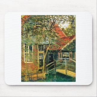 Tapis De Souris Zaandam, peu de pont par Claude Monet