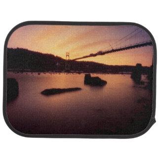 Tapis De Voiture Coucher du soleil de pont de St Johns