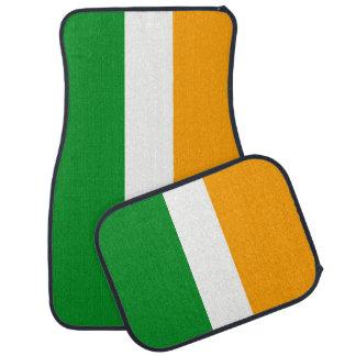 Tapis De Voiture Drapeau tricolore irlandais de ROI de l'Irlande