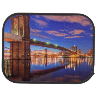 Tapis De Voiture L'East River, pont de Brooklyn, Manhattan