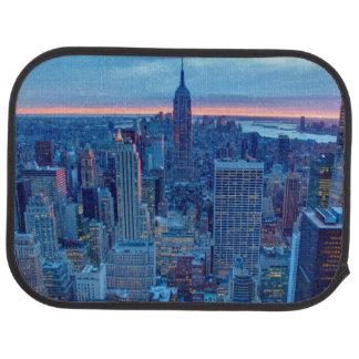 Tapis De Voiture Les gratte-ciel de Manhattan sont allumés