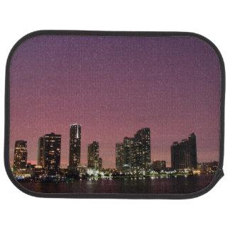 Tapis De Voiture Lumière de coucher du soleil au-dessus de Miami