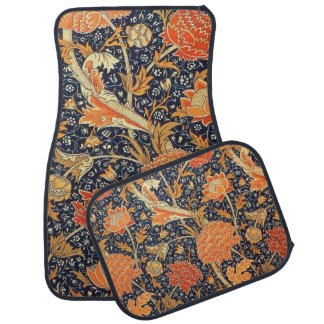 Tapis De Voiture Motif floral de Nouveau d'art de William Morris