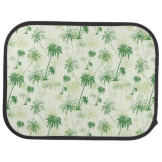 Tapis De Voiture Motif vert de palmier