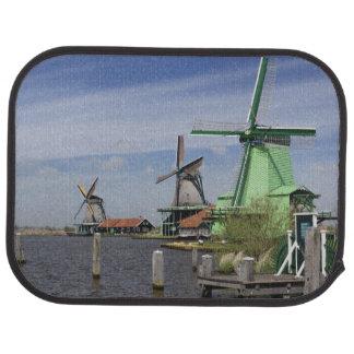 Tapis De Voiture Moulin à vent, Zaanse Schans, Hollande, Pays-Bas 2