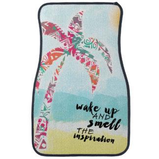 Tapis De Voiture réveillez et sentez l'inspiration, la plage et la